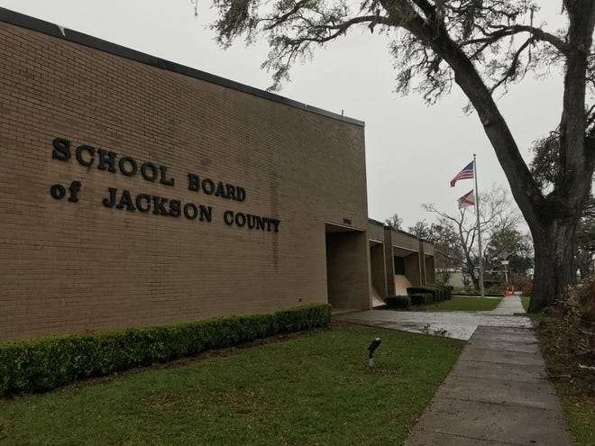 The Jackson County School Board in Marianna, Florida.
