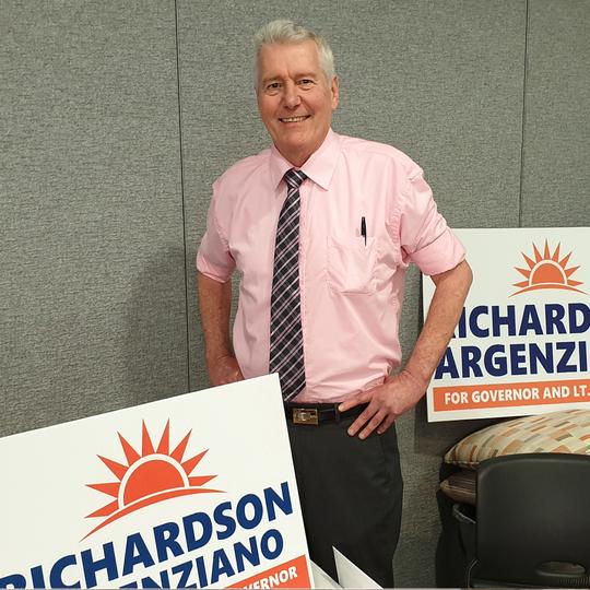 Darcy Richardson, Reform Party