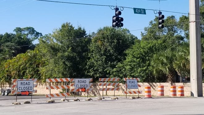 Road closed signs along 58th Avenue from 26th Street north have been a common sight for motorists since June.