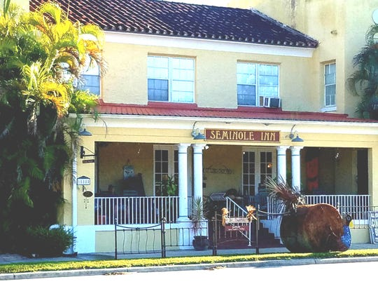 The Seminole Inn is a good spot for Sunday Brunch. It's at 15885 S.W. Warfield Blvd. inIndiantown.
