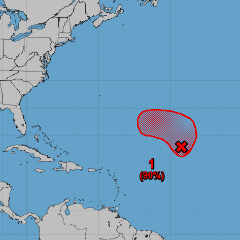 Chances increasing for tropical or subtropical storm in Atlantic by this weekend
