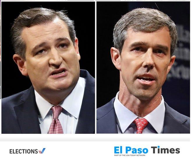 Sen. Ted Cruz and Rep. Beto O'Rourke.