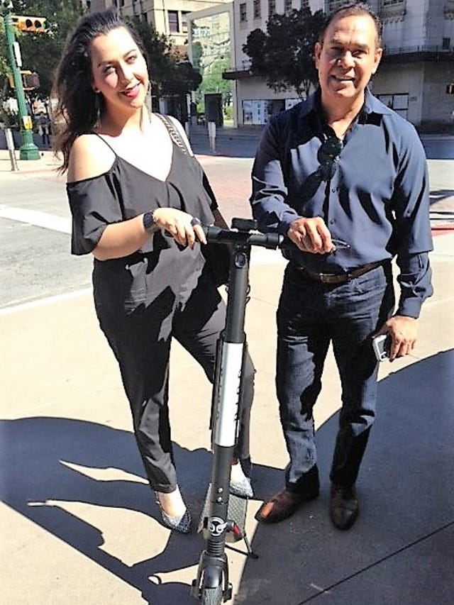 Bird electric scooters hit El Paso as city orders it to halt