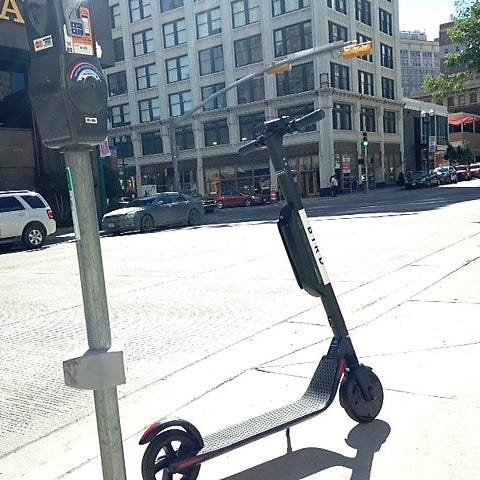 Electric scooters should be banned Downtown: Reader