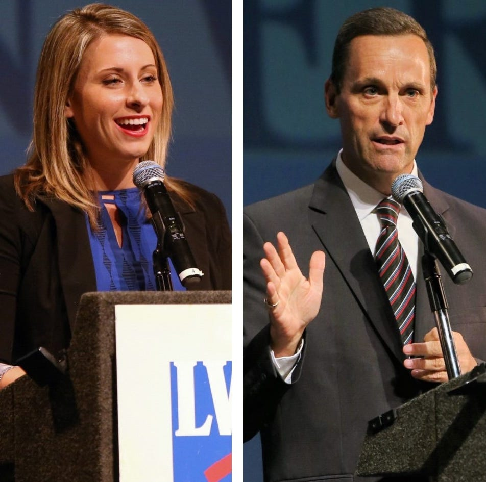 Election results 2018: Katie Hill grabs lead over Steve Knight in key House race
