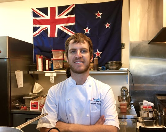 Gwithyen Thomas, the New Zealand-born executive chef and co-owner of Aroha New Zealand Cuisine and Bar in Westlake Village, will demonstrate two dishes featuring Ora King salmon during the Star's Wine & Food Experience Nov. 10 in Camarillo.