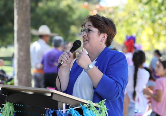 Ruth Luevanos said she decided to run for a seat on the Simi Valley City Council after the current council voted to support the Trump administration's lawsuit against California's emotionally charged sanctuary state law.