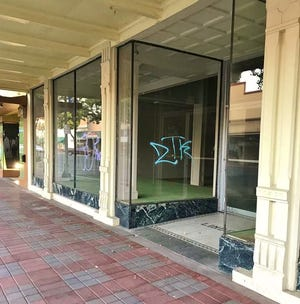 Tulare's Linders Hardware building was vandalized this week.