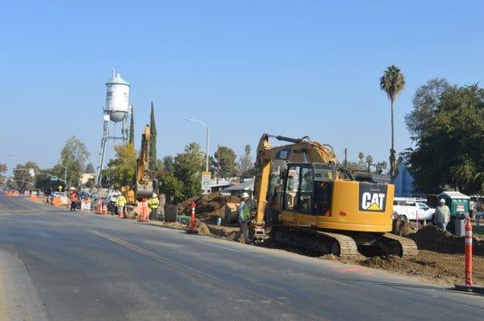 O Street construction