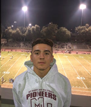Mt. Whitney High's Zack Reza is the Times-Delta prep athlete of the week.
