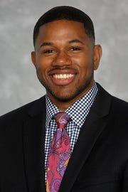 "Iona men's basketball assistant coach Garfield ""Ricky"" Johns."