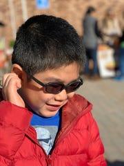 Jacob Moon, 9, of Dobbs Ferry