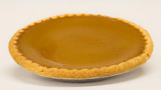Pumpkin pie from Galloway's Bakery i n Scarsdale.