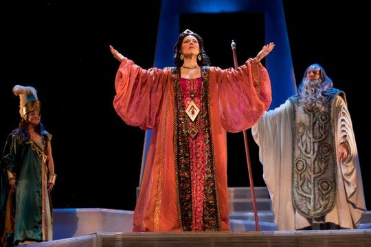 "On Nov. 17 at 1 p.m. Philadelphia's WRTI-FM will broadcast OperaDelaware's 2017 festival production of ""Semiramide."""