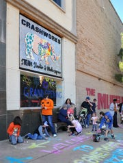 Kids and their parents, can enter the Crashworks STEAM Studio & Makerspace to do science projects for a minimal wristband fee this Saturday from 2 to 10 p.m. at the 2020 St. Patrick's Day Downtown Street Festival.