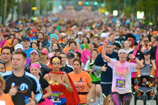 Sport your Halloween best at the Anthem Wicked 10k, Monster Mile and Mini Monster 1K in Virginia Beach.