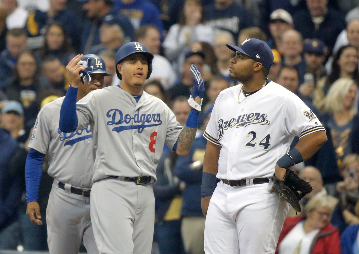 World Series: Was Dodger Manny Machado caught cheating in