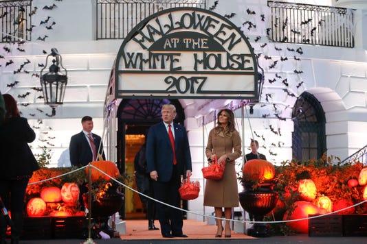 Ap Trump Halloween A Usa Dc