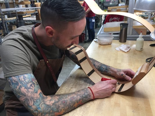 Mike Nemeth Shaping Rosewood Side