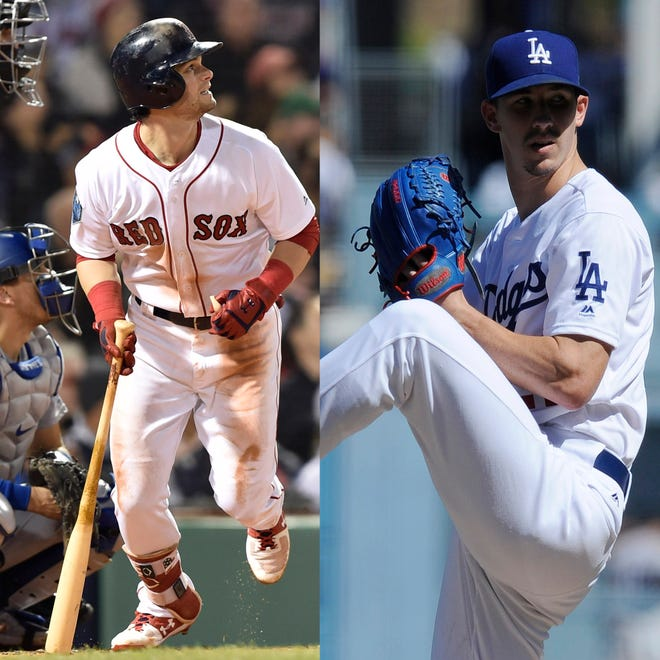Andrew Benintendi and Walker Buehler will face off in World Series Game 3.