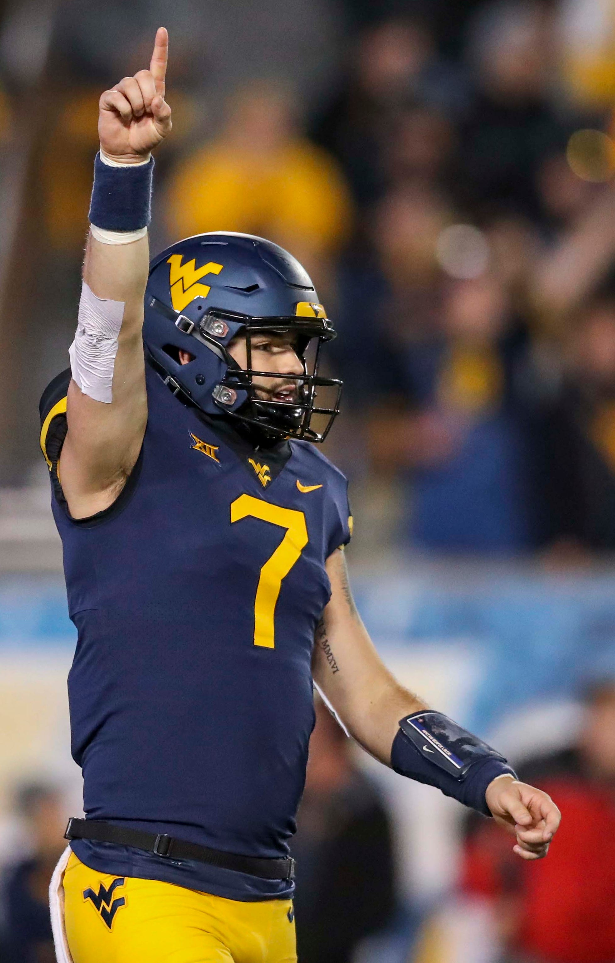Big 12 Football No 12 West Virginia Routs Baylor
