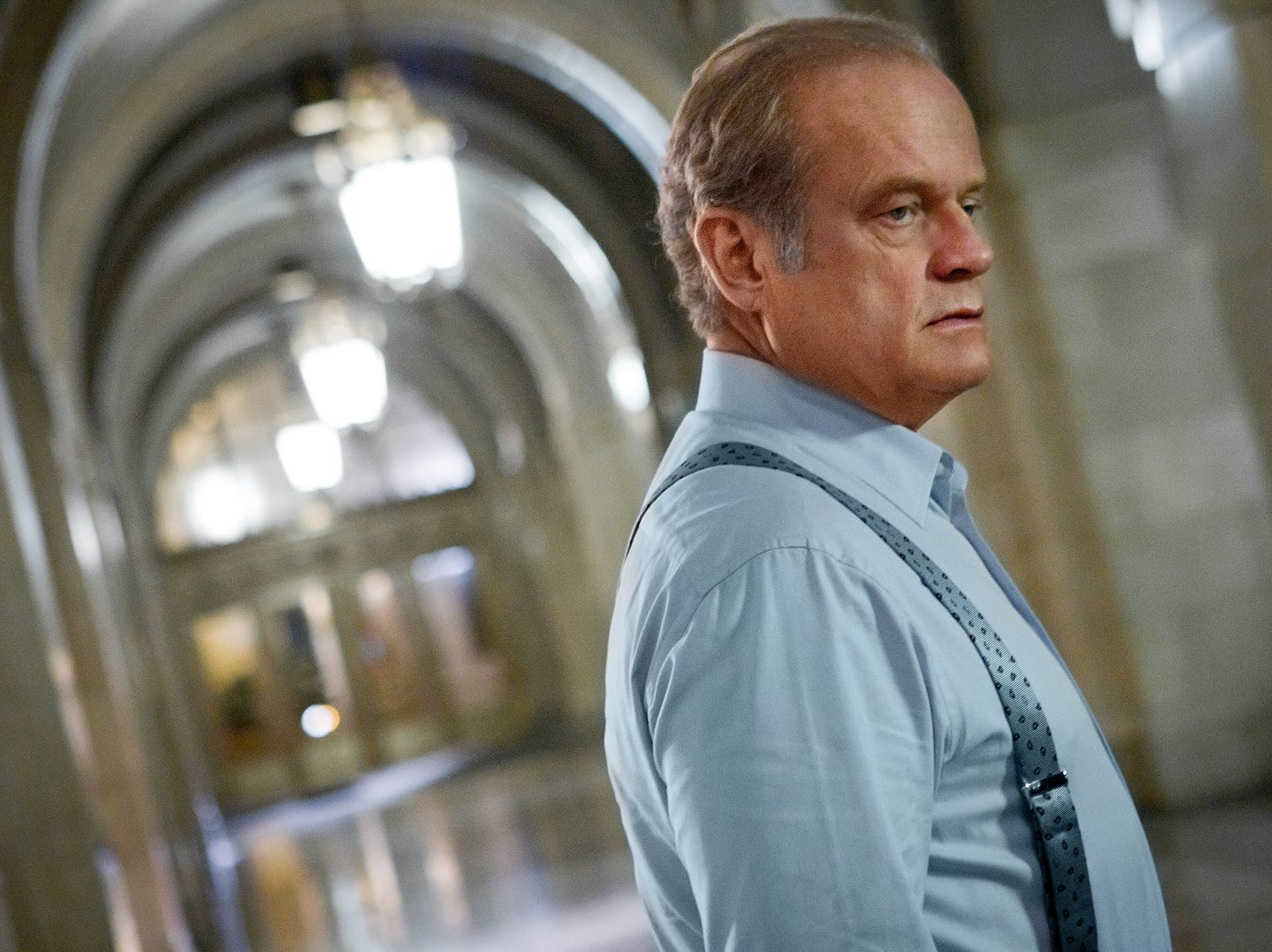"""Boss"" (Starz, 2011-12): Mayor Tom Kane (Kelsey Grammer)  tries to hide his recent diagnosis of a neurological disorder while running the city of Chicago."