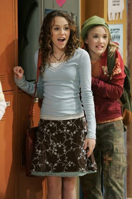 Emily Osment (right) played Miley's tomboy-ish best friend, Lilly Truscott.