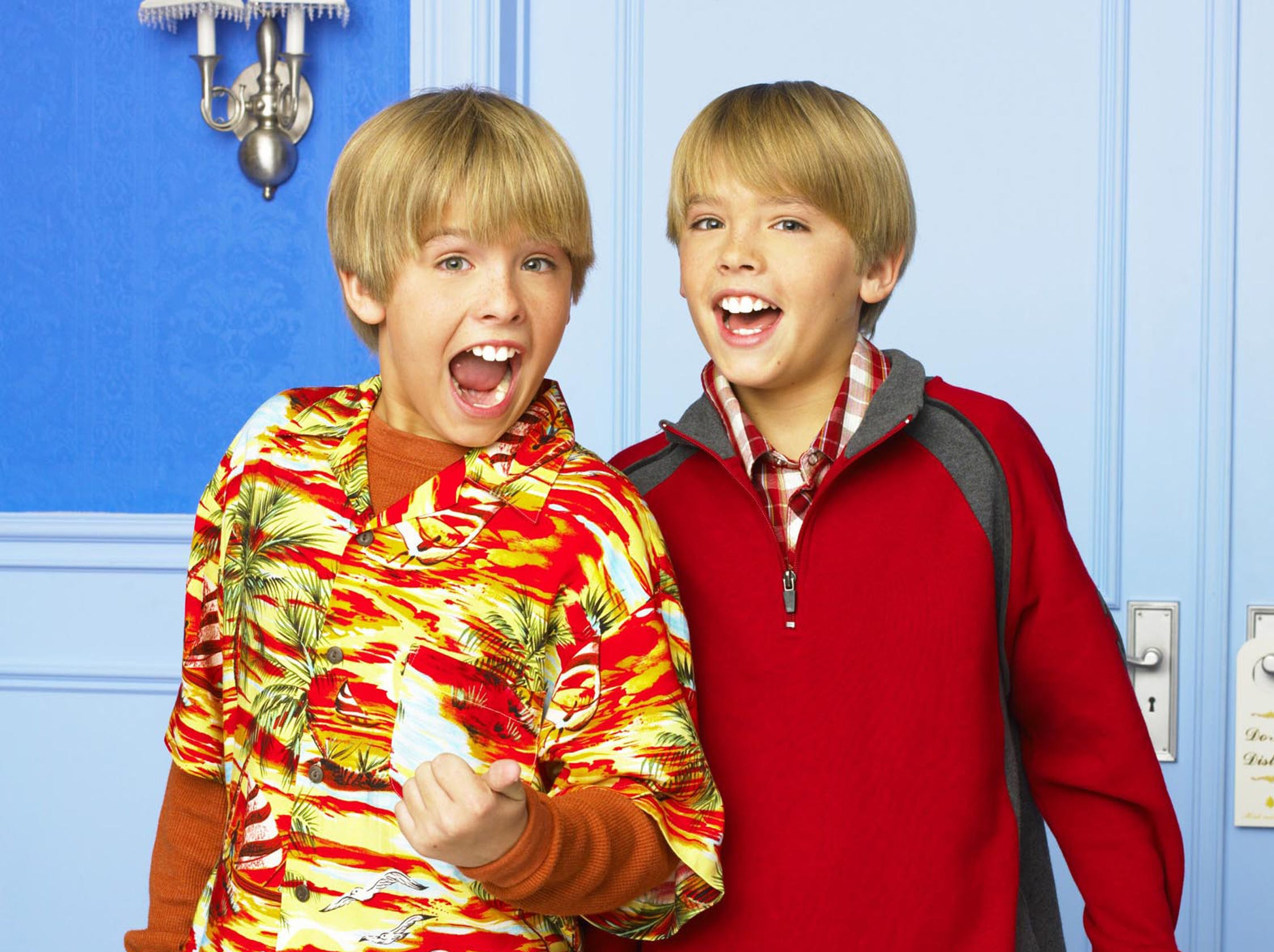 """The Suite Life of Zack & Cody"" (11:00 a.m., ET/10:00 a.m., PT), new to ABC Kids and starring identical twins Dylan and Cole Sprouse (""Big Daddy,"" ""Friends""), Ashley Tisdale and Brenda Song (Disney Channel's ""Phil of the Future"" and ""Stuck in the Suburbs""), is a situation comedy that tracks the antics of twin 12-year-old boys, Zack and Cody, whose single mom Carey (Kim Rhodes) gets a job as headlining singer at an upscale hotel in Boston and as part of her contract, an upper floor suite where they all live now.  The hotel comes complete with room service, a swimming pool, game room, candy counter and many new friends for the twins to get to know including Maddie, the candy counter clerk and frequent babysitter, as well as London, the hotel owner's spoiled daughter.  To the chagrin of the hotel manager, Mr. Moseby (Phill Lewis), the twins turn the hotel into their playground, and the staff and guests into unwitting participants in the outrageous situations they manage to create.   (DISNEY)  (Via MerlinFTP Drop)"
