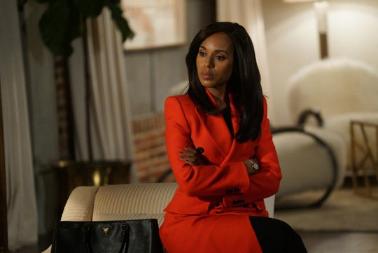 """Scandal"" (ABC, 2012-18): Olivia Pope (Kerry Washington), the owner of a crisis management firm that works with the White House, develops a personal relationship with the President."