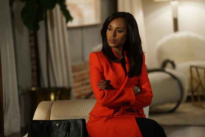 """""""Scandal"""" (ABC, 2012-18): Olivia Pope (Kerry Washington), the owner of a crisis management firm that works with the White House, develops a personal relationship with the President."""
