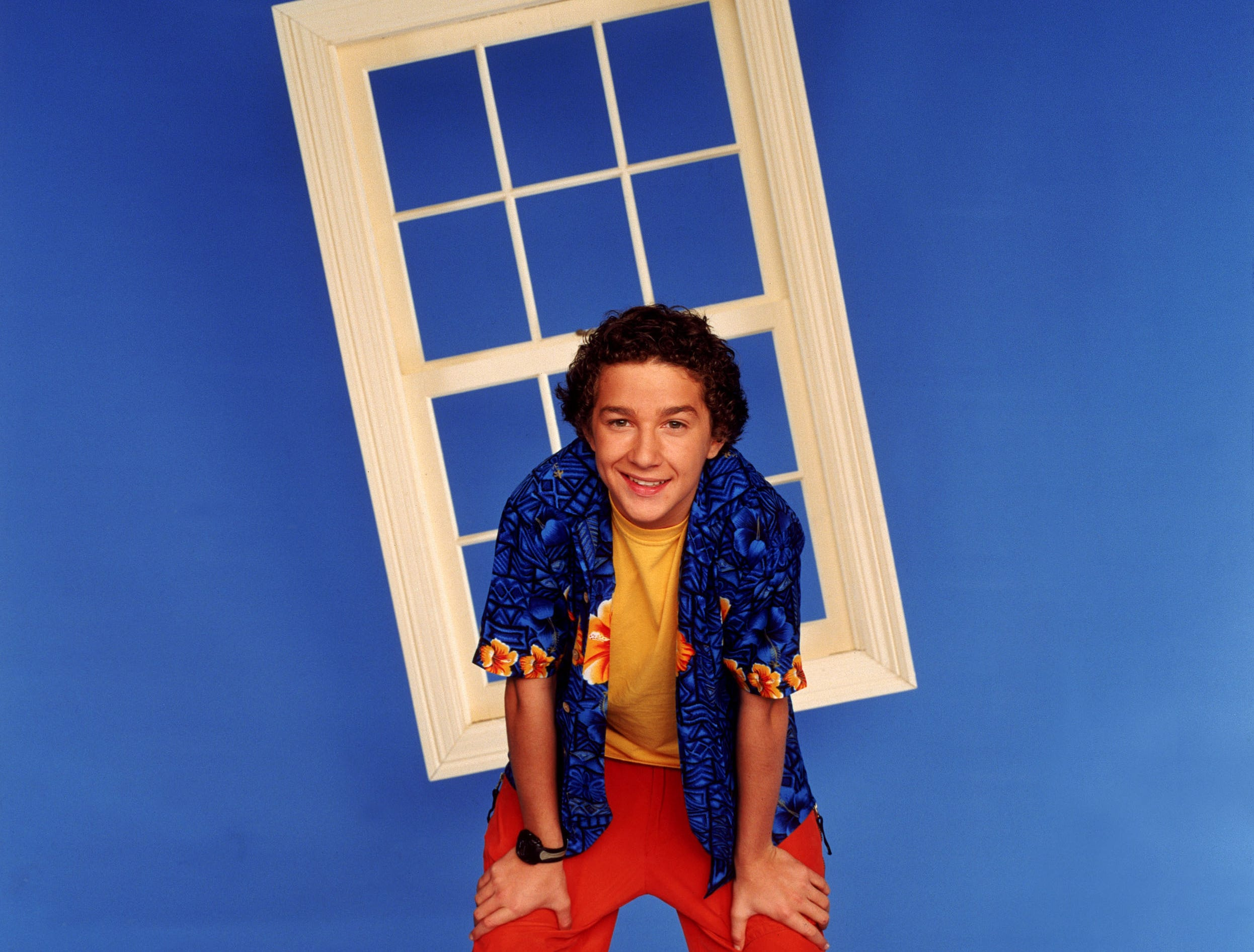 Shia LaBeouf appears on the television program Even Stevens. --- DATE TAKEN: rcd 04/03  No Byline   Disney Channel        HO      - handout ORG XMIT: PX94298