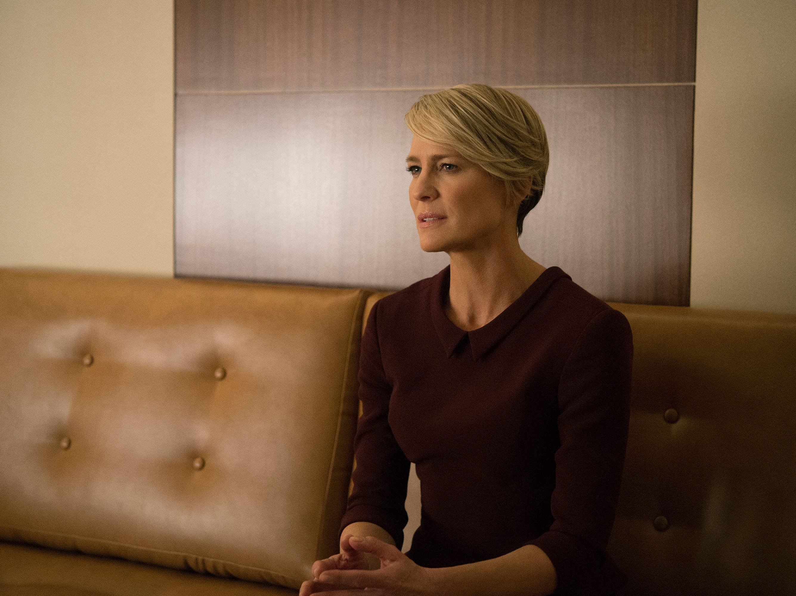 "The final season of Netflix's ""House of Cards"" debuts with Robin Wright as Claire Underwood, the new President of the United States after her husband's resignation from the position. ""House"" is just one of the many series that examines the drama and comedy surrounding politicians in power. Here are a few more of our favorite political television shows."
