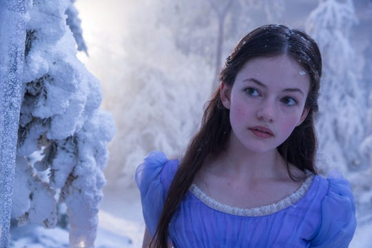 "Mackenzie Foy is Clara in Disney's reimagined ""The Nutcracker and the Four Realms."""