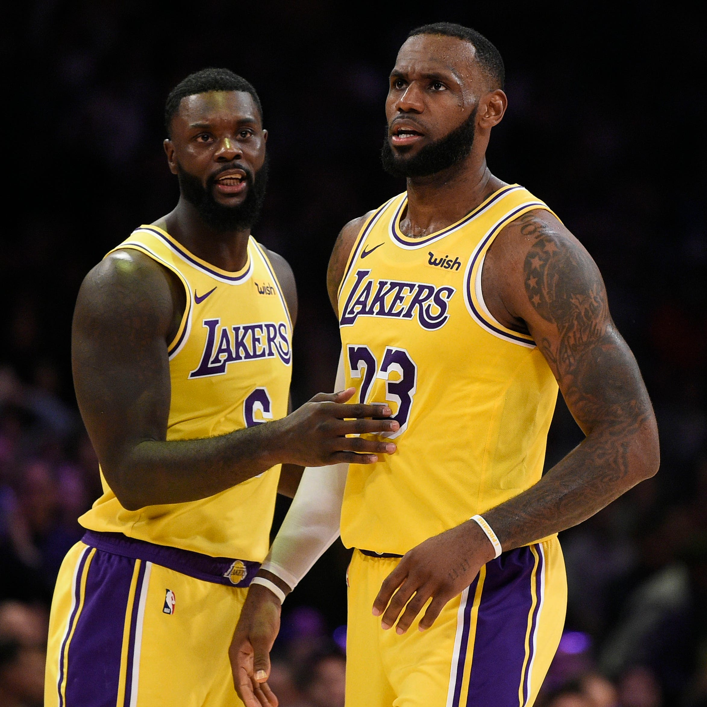 Lance Stephenson's peer pressure forced LeBron James to take late 3-pointer in Lakers' win