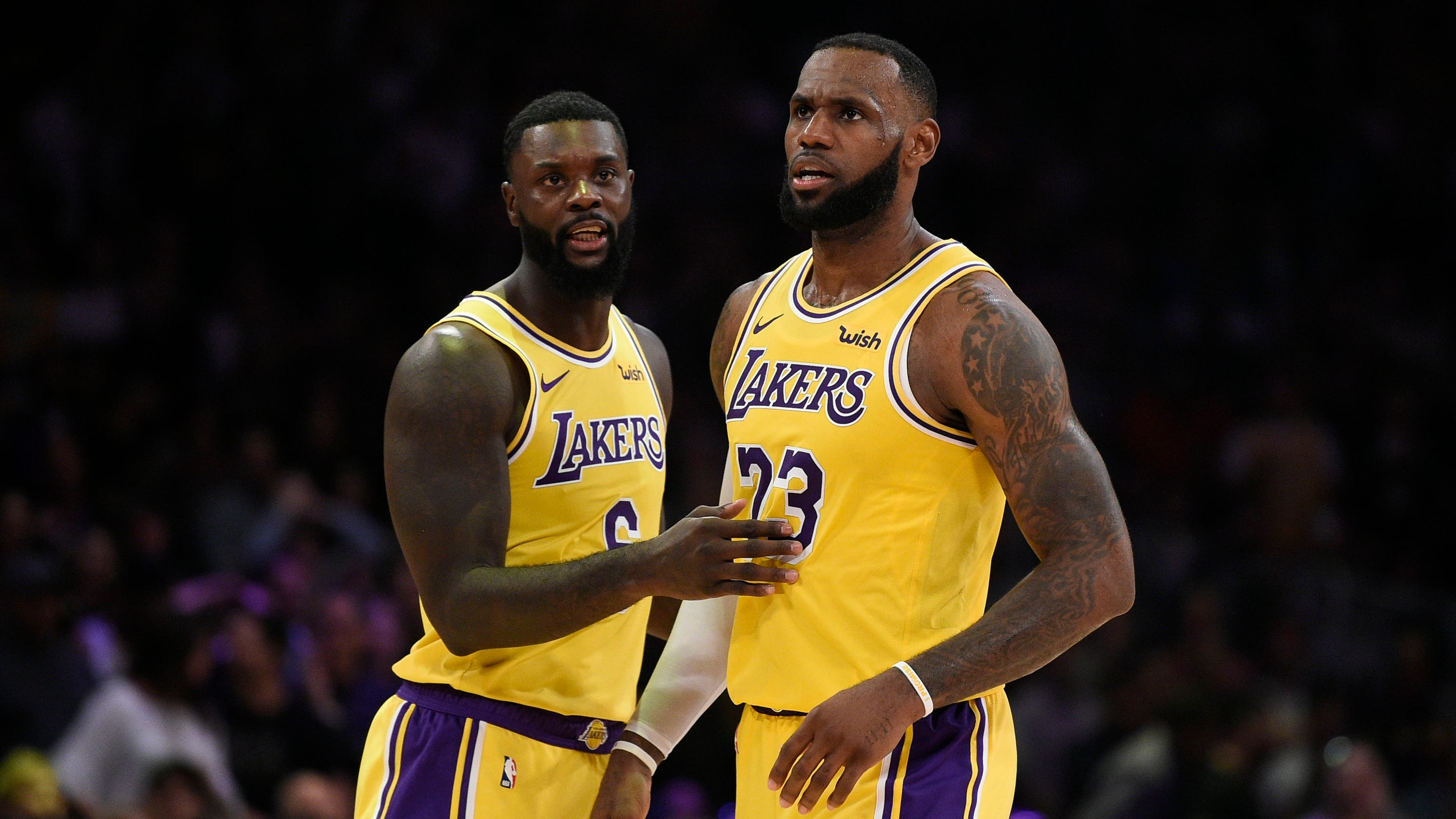 Lance Stephenson s peer pressure forced LeBron James to take late 3-pointer  in Lakers  win 01d0fc5d5