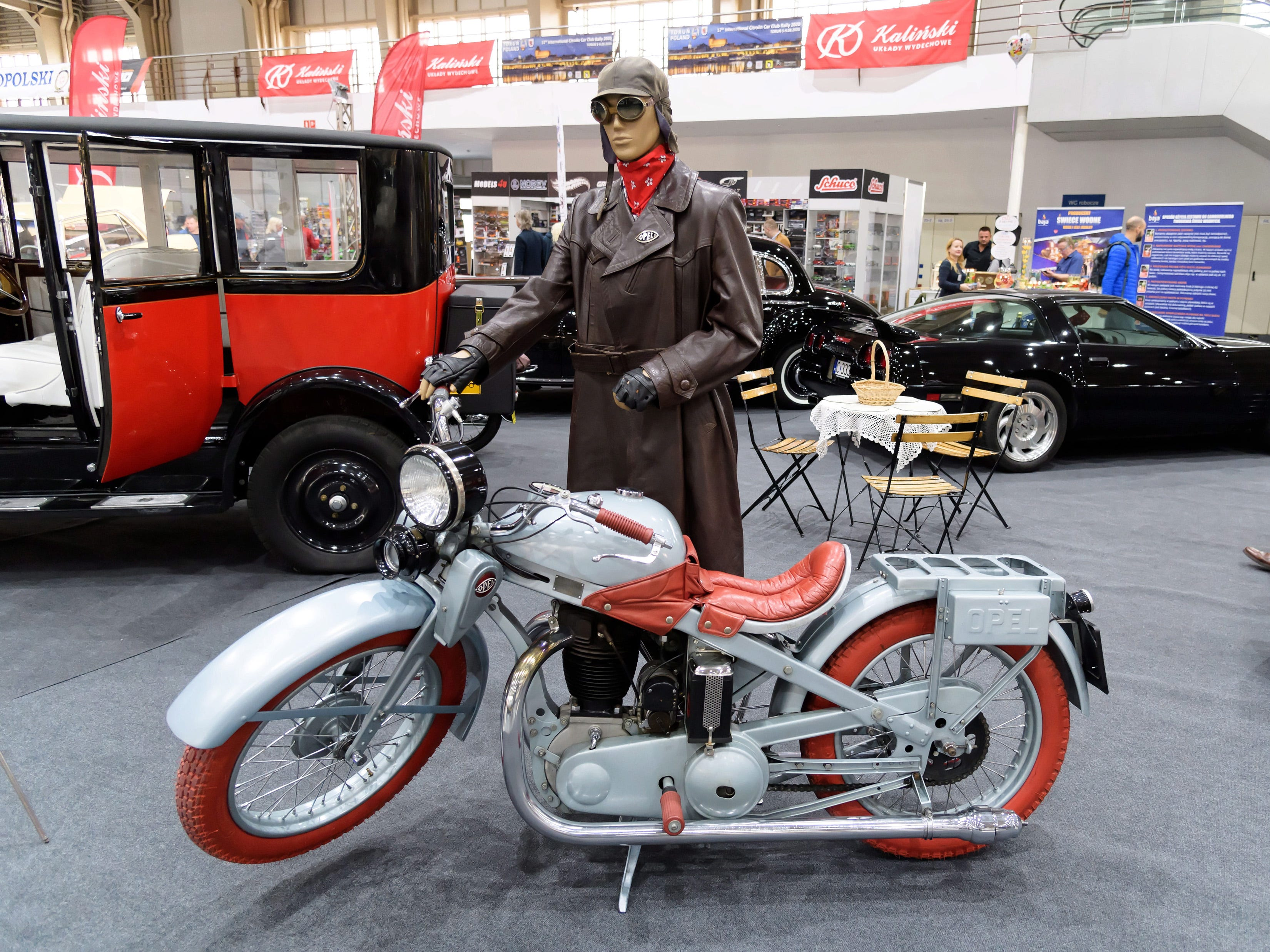 An Opel motorcycle.