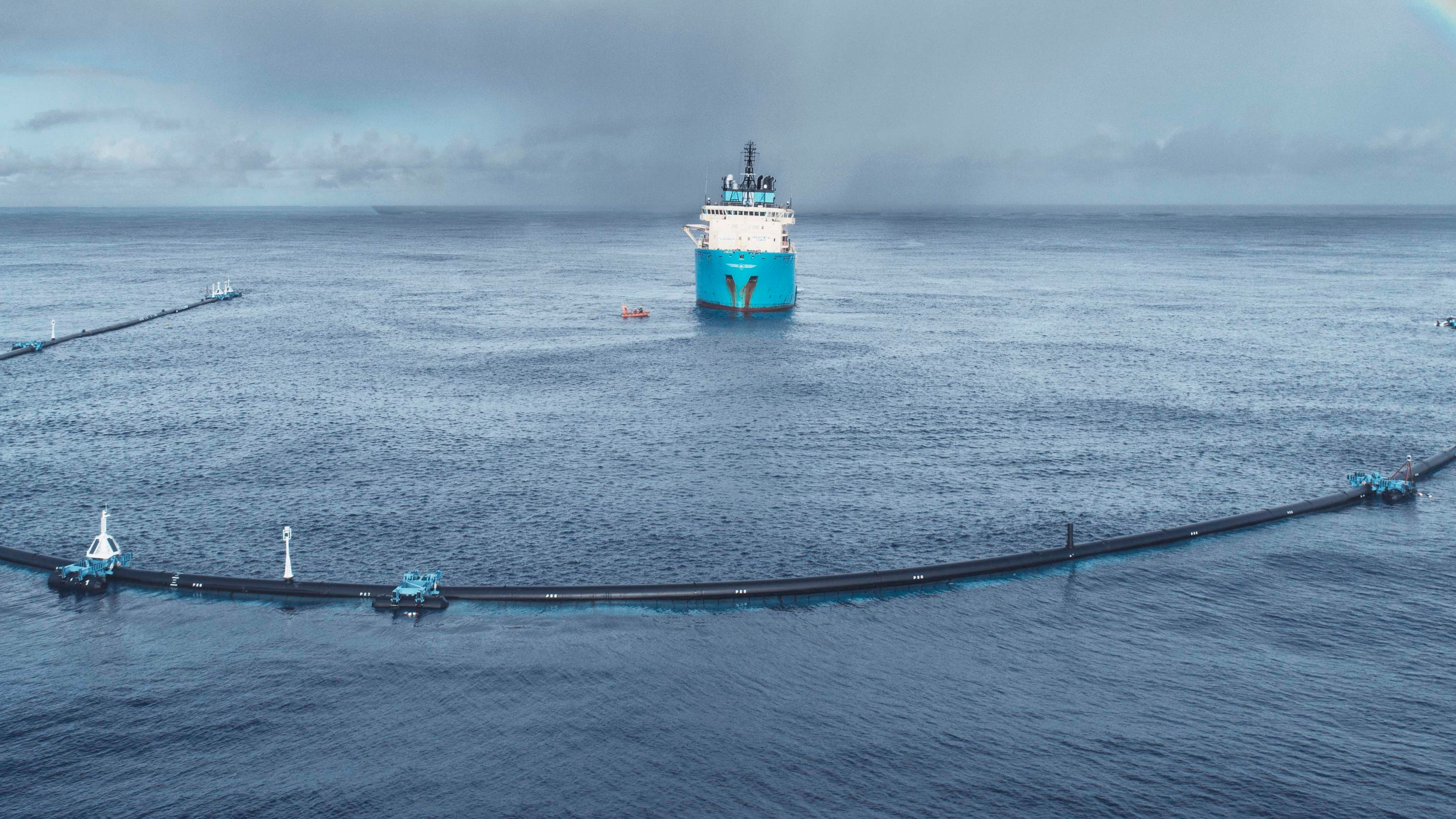 Ocean Cleanup device in Great Pacific Garbage Patch breaks, will be towed back to port