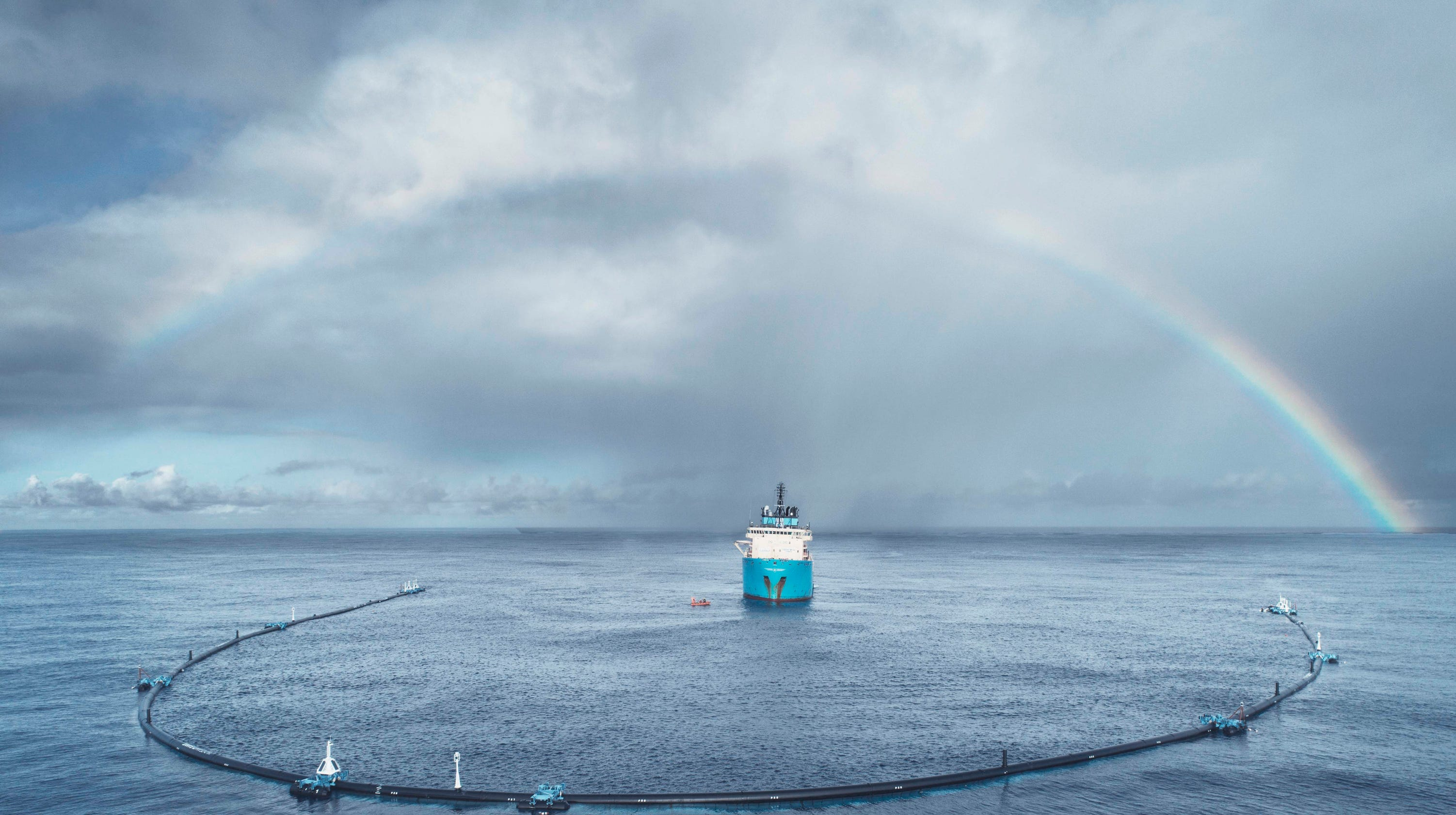 ocean cleanup system at great pacific garbage patch won t hold plastic