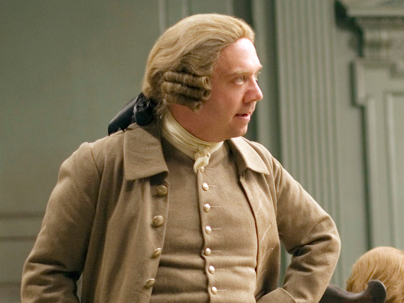 """John Adams"" (HBO, 2008): Based on the book by David McCullough, the miniseries follows John Adams (Paul Giamatti) as he navigates the politics of the birth of a new nation as one of its Founding Fathers."