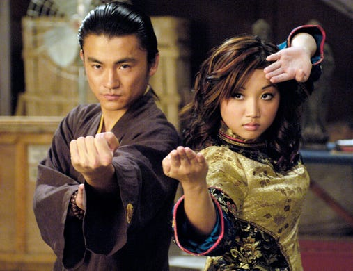 """Brenda Song showed up in a handful of Disney projects. Aside from playing ditzy heiress London Tipton on """"The Suite Life,"""" she co-starred in the 2004 Disney Channel original movie """"Stuck in the Suburbs"""" (with a young Taran Killam!) and starred in the 2006 movie """"Wendy Wu: Homecoming Warrior."""""""
