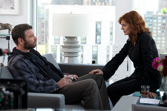 Media mogul Sam Winslow (Susan Sarandon), right, pulls Ray Donovan  (Liev Schreiber) back into the fixer game in Season 6 of Showtime's 'Ray Donovan.'