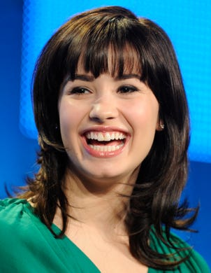 """Demi Lovato began her Disney Channel career on the short series """"As the Bell Rings,"""" before landing starring roles in the original movie """"Camp Rock"""" and series """"Sonny With a Chance."""""""