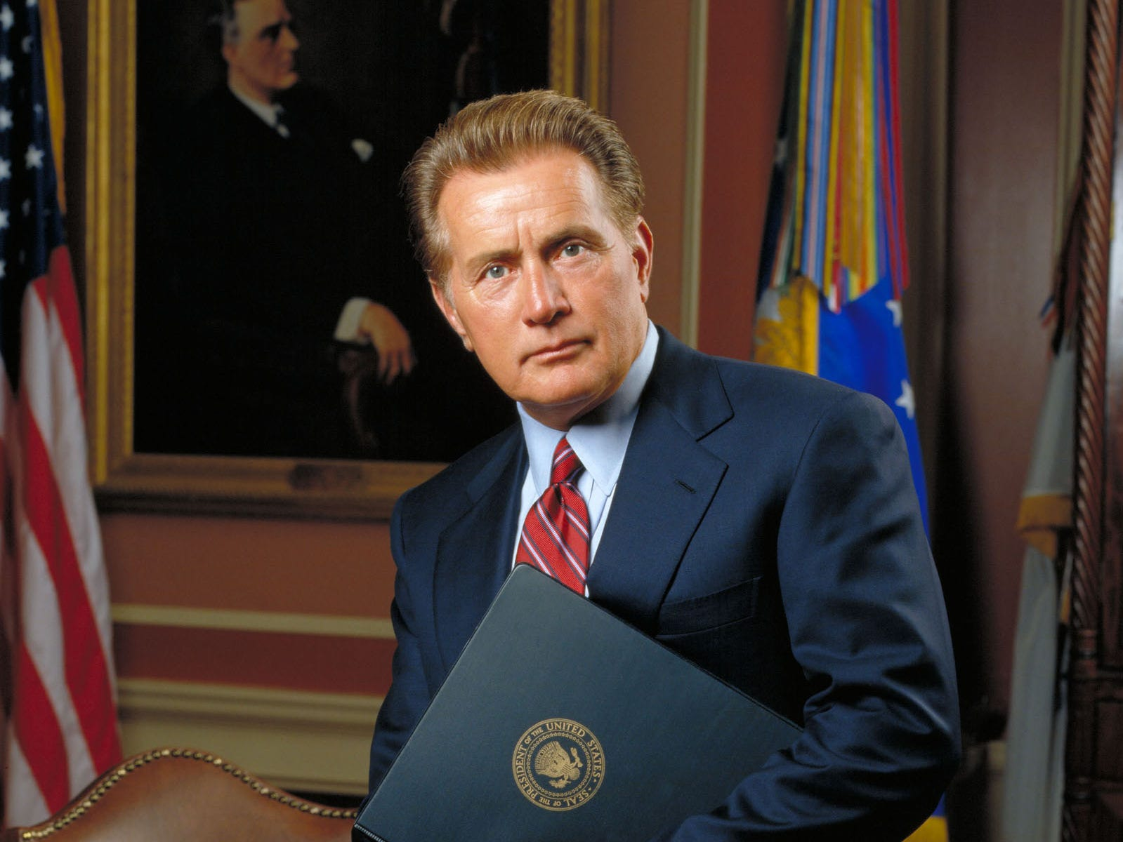 """The West Wing"" (NBC, 1999-2006): The Aaron Sorkin series followed President Josiah Bartlet (Martin Sheen) and his West Wing staff as they deal with the challenges of working in the White House."