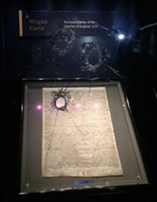 Epa Britain Crime Attempted Theft Of Salisbury Magna Carta Clj Crime Gbr