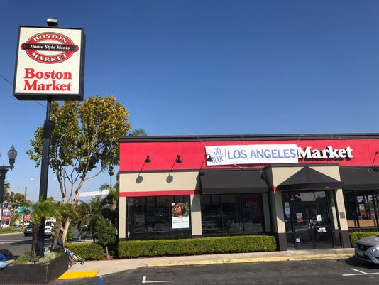 Boston Market now Los Angeles Market