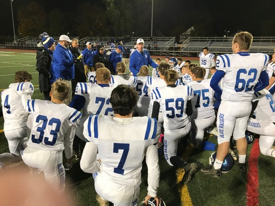 It was a happy Horseheads bunch postgame Friday night at Binghamton.