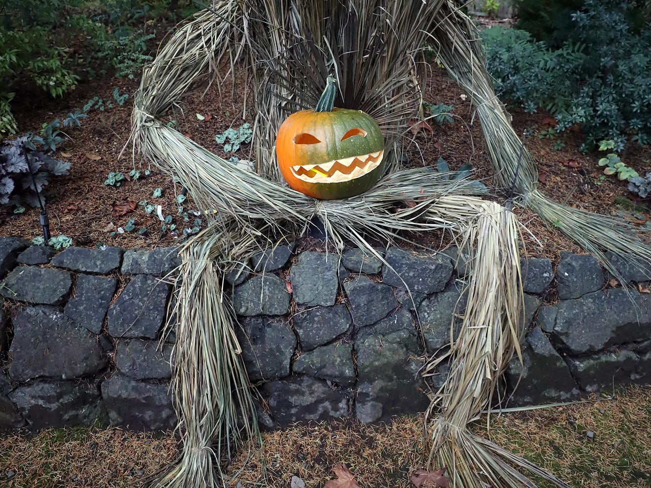 The Haunted Heronswood 2018 in Kingston was Friday and Saturday, October,26-27. The second annual garden halloween charters tour featured some S'Klallam folk stories.