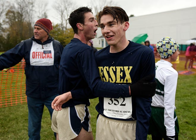 Essex junior Henry Farrington captured the Division I boys crown at Thetford in November.
