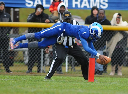 2f1664a5d20 ... front flips as he enters the end zone for a touchdown in a late-season  loss to Penns Grove. The Rams would like another shot at their rivals but  first ...