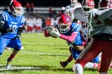 Triton heads to the playoffs after defeating Pennsauken 31-0 Friday, Oct. 26, 2018.